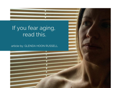 If you fear aging, read this.